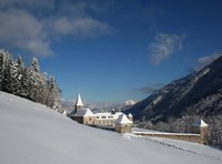 Abbaye Tamie neige