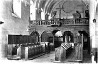 Eglise stalles jube