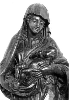Vierge bois Tamié