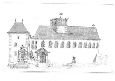façade ouest 1850