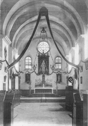Église décorée avant 1925